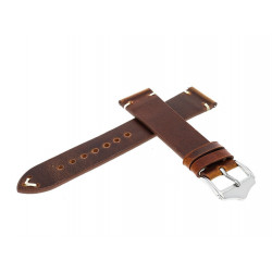 LEATHER STRAP NVT01 18MM